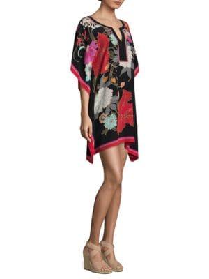 Theodora Silk Shift Dress