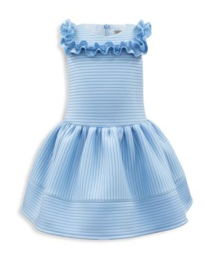 Toddler's, Little Girl's & Girl's Scuba Fit-and-Flare Dress