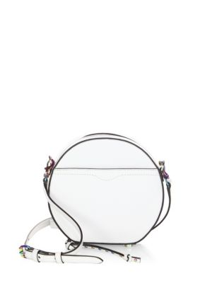 Boston Leather Circle Mini Bag