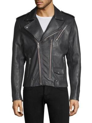 Novus Leather Moto Jacket