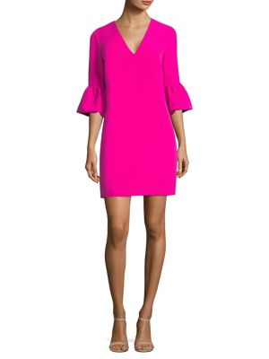 Mandy Bell-Sleeve Shift Dress
