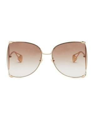 63MM Butterfly Sunglasses