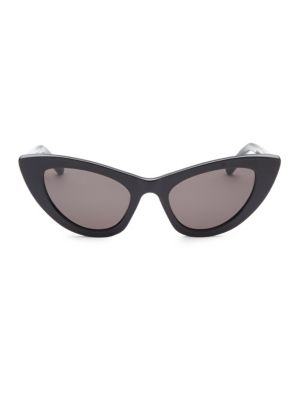 52MM Black New Wave 213 Lily Sunglasses