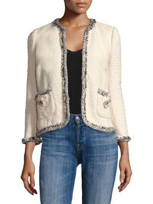 Braided Tweed Jacket by Rebecca Taylor