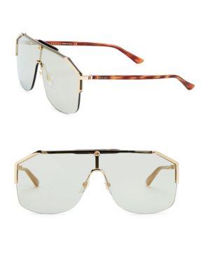 Havana Shield Sunglasses