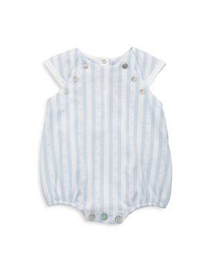 Baby's Striped Cotton Bubble