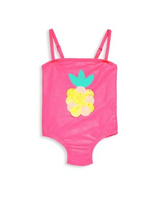 Baby's & Toddler's Pineapple One-Piece Swimsuit