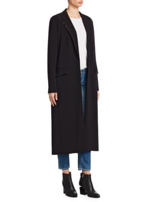 Jolana Crepe Duster Jacket by Elizabeth And James