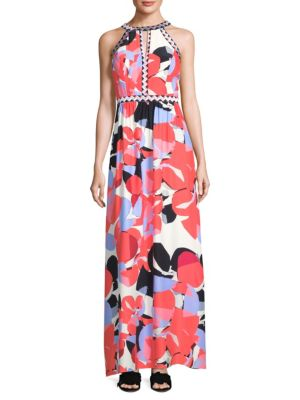 Luella Silk Maxi Dress