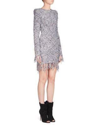 Tweed Knit Dress