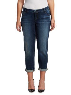 Easy Rolled Boyfriend Jeans