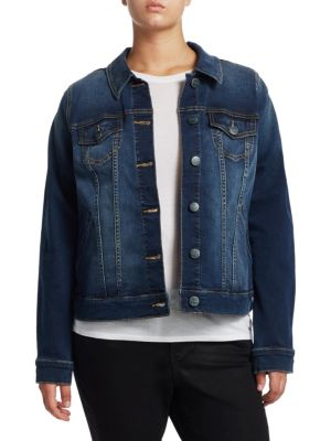 Full-Length Denim Jacket
