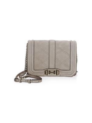 Small Love Leather Crossbody Bag