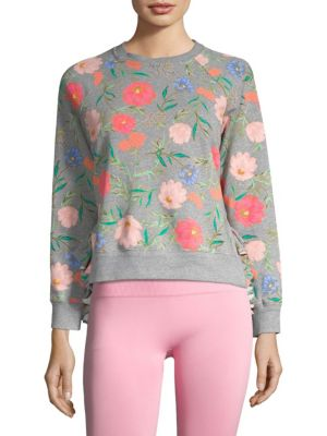 Blossom Cropped Pullover