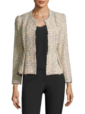 Rainbow Tweed Jacket