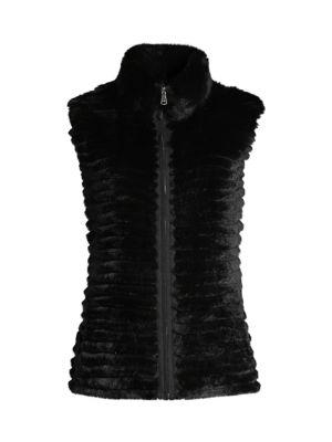 Signature Rabbit Fur Vest