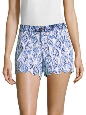 Buttercup-Printed Shorts