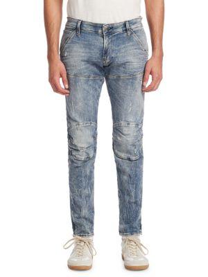 Super Slim Vintage Wash Skinny Jeans