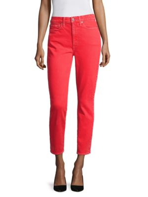 AO.LA Good High-Rise Ankle Skinny Jeans