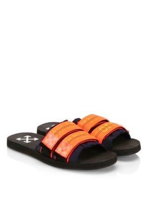 Black & Orange Industrial Slides