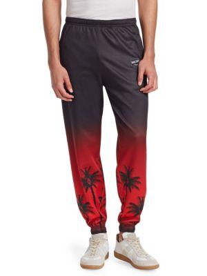 Palm Tree Cotton Pants
