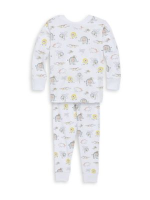 Toddler's & Little Boy's Two-Piece Jungle Jamboree Print Pajamas