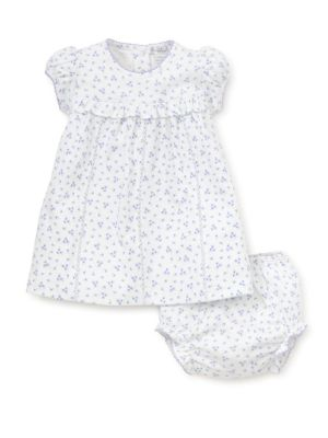 Baby's Dream Cotton Dress and Bloomers Set