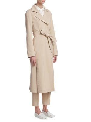 Teri Gabardine Trench Coat