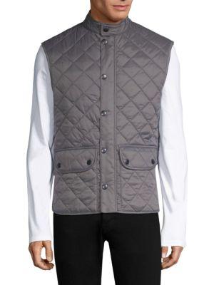 Lowerdale Quilted Fleece Vest
