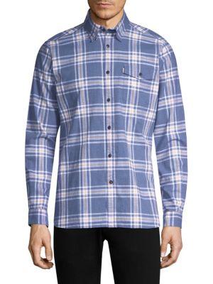 Elver Cotton Button-Down Shirt