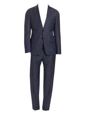 G-Line Wool Sharkskin Suit