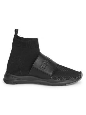Knit Ankle Sock Sneakers