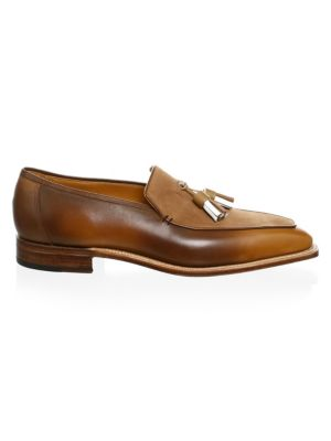 CORTHAY Dover Tassel Pullman Loafers