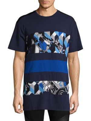 Color-Block Graphic Tee