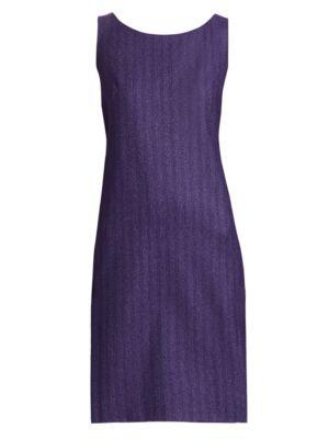 Herringbone Sheath Dress