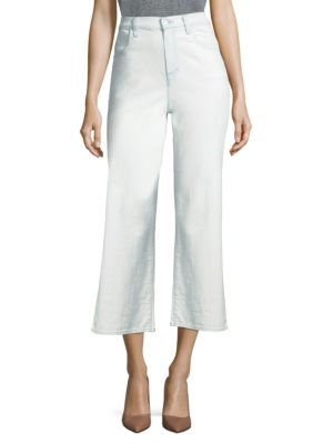 Joan High-Rise Cropped Light Wash Jeans