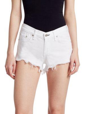 Cut-Off Denim Shorts