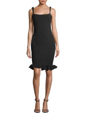 Carmen Ruffle Dress by Likely