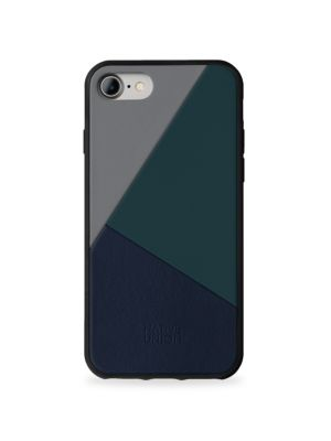 BOOSTCASE Clic Gray Leather iPhone 7 Case