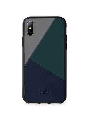 BOOSTCASE Clic Gray Leather iPhone 8 Plus Case