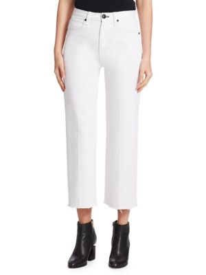 Justine Wide-Leg Ankle Trousers