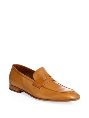 Paul Smith Glynn Leather Penny Loafers - Merlot Affordable Free Shipping Finishline New Online Explore Online Discount Really pEMgcP9Bjz