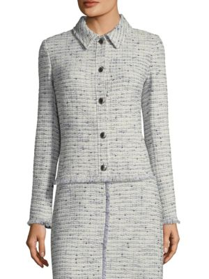 Josephine Tweed Knit Jacket by St. John