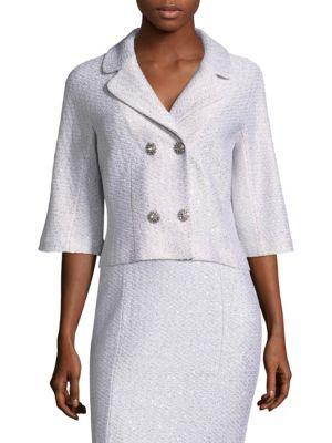 Ripple Sequin Knit Jacket