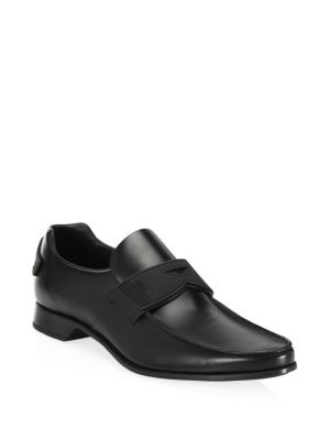 Leather New Pointed Loafers