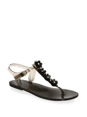 Farrah Buckle Thong Sandals