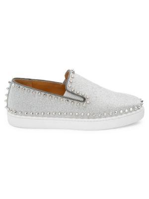 Pik Glitter Boat Shoes