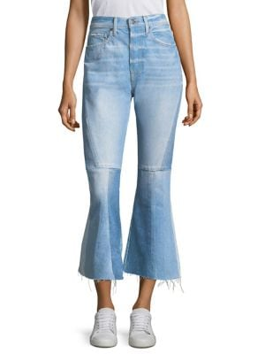 Seamed Bootcut Jeans