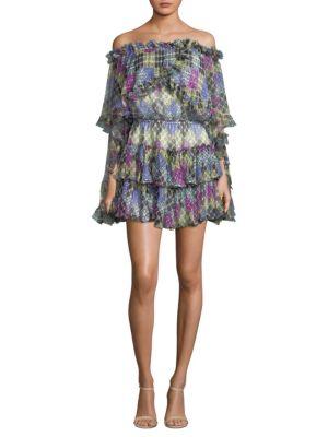 Dahlia Silk Dress