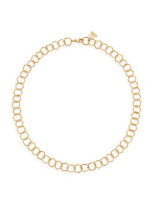 Garden Of Earthy Delights 18K Gold Chain Necklace